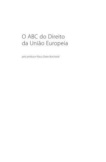 O ABC do Direito da União Europeia - EUR-Lex - Europa