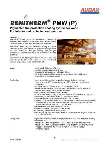Renitherm® PMW - Audax Keck GmbH