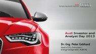 Dr.-Ing. Peter Gebhard - Audi