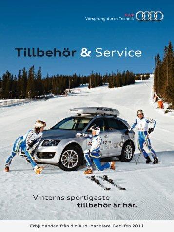 Tillbehör & Service - Audi