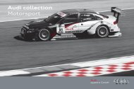Audi collection Motorsport