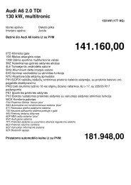 Komplektacija (77 kB) - Audi