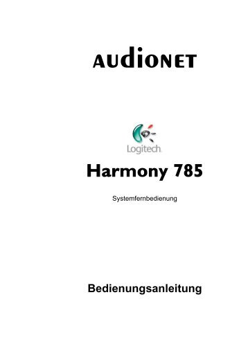 manual Harmony de - Audionet