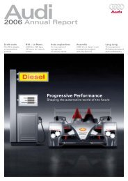 2006 Annual Report, Magazine Part (11 MB) - Audi