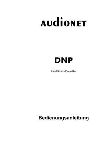 DNP manual - Audionet