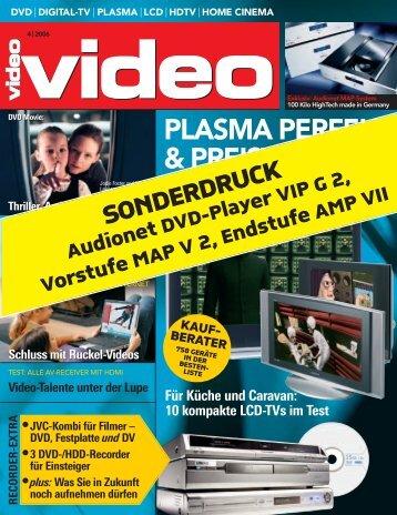 PLASMA PERFEKT & PREISWERT - Audionet