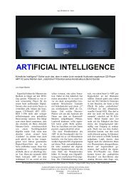ARTIFICIAL INTELLIGENCE - Audionet