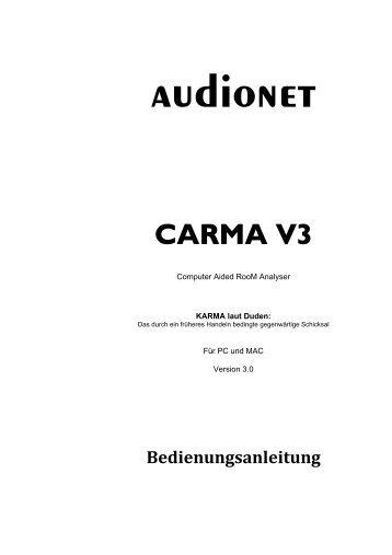carma v3.0 - Audionet