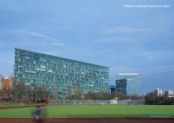 PRISMA building Frankfurt am Main - Auer+Weber+Assoziierte