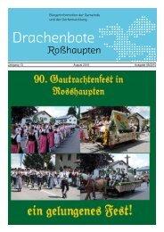 Jahrgang 13 August 2010 Ausgabe 08/2010 - Roßhaupten