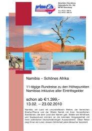 Rsb Meersburg Namibia Feb2010 - Reisebüro Meersburg