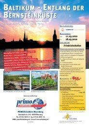 Baltikum - Reisebüro Meersburg