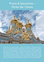Pracht & Geschichte – Perlen der Ostsee