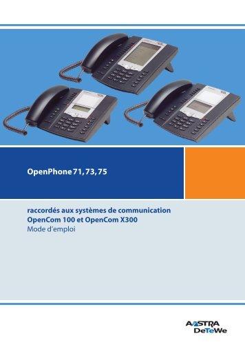OpenPhone 71, 73, 75