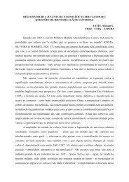 DESCONSTRUIR A JUVENTUDE NAS POLÍTICAS ... - Unicap