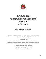Estatuto dos Funcionários Públicos Civis do Estado de