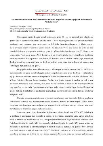 Adalberto e Kátia Paranhos - Fazendo Gênero 8 - texto para anais