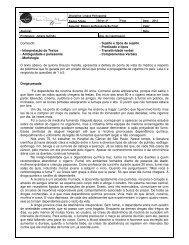 Sujeito e tipos de sujeito - Colégio Maria Clara Machado