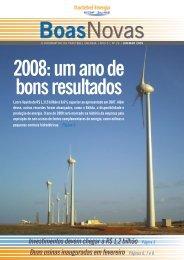 Ano 5 - nº 29 - janeiro a março/2009 - Tractebel Energia