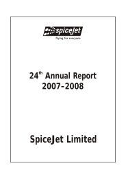 Annual Report 2012-13 - SpiceJet