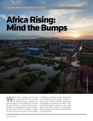 Africa Rising: Mind the Bumps