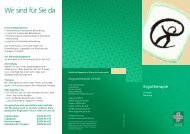 Broschüre Ergotherapie - Augustahospital Anholt