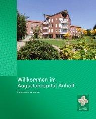 Patienteninformationsbroschüre - Augustahospital Anholt