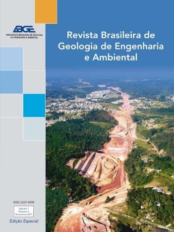 contribuição para a geologia de engenharia aplicada às ... - ABGE