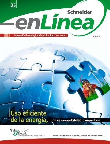 Uso eficiente - Schneider Electric