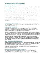 ABLAUF DES VERMITTLUNGS-VERFAHRENS - Au-pair-Info