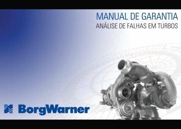 Manual de Garantia Turbo WEB - BorgWarner Brasil