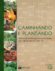 Baixe a cartilha Caminhando e plantando publicada em - Serracima