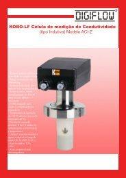 KOBO-LF Célula de medição de Condutividade (tipo ... - digiflow