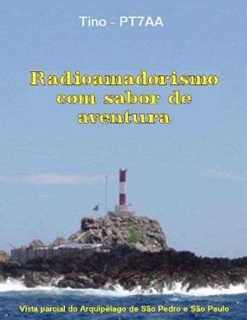Livro Radioamadorismo com sabor de aventura - Por Tino PT7AA