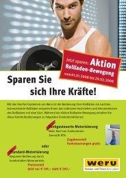 Sparen Sie sich Ihre Kräfte! - Ausbau-reich.de