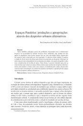 Espaços Paralelos - Universidade do Porto