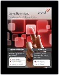 Prospekt protel Hotel-Apps