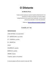Martins Pena - Encontros de Dramaturgia
