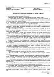 ANEXO 3-X - 3-X-1 - NORMAM-05/DPC Mod 4 FABRICANTE ...
