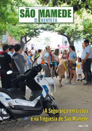 A Segurança em Lisboa e na freguesia de São Mamede - Junta de ...