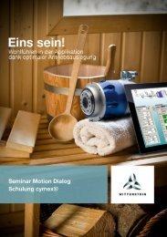Seminar Motion Dialog - Wittenstein AG