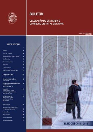 BOLETIM 24.cdr - Ordem dos Advogados