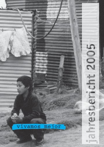 Jahresrechnung 2005 - Vivamos Mejor