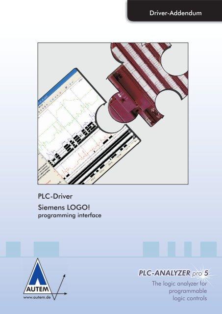 PLC-ANALYZER pro 5 PLC-Driver Siemens LOGO! - AUTEM GmbH