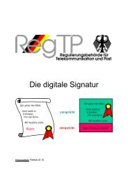 Die digitale Signatur - AuthentiDate