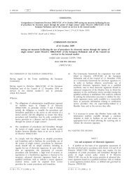EU decision dated Oct.16, 2009 electronic signatures - AuthentiDate