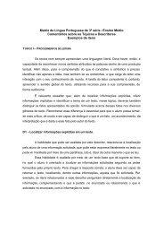 Matriz de Língua Portuguesa de 3ª série - Ensino Médio ... - Inep