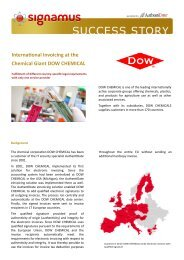 International Invoicing at the Chemical Giant DOW ... -  AuthentiDate