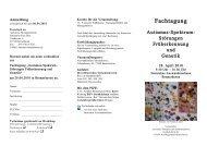 Fachtagung - Autismus Bremen eV