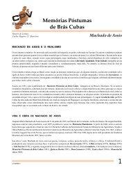 Memórias Póstumas de Brás Cubas - CPV